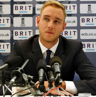 Stuart Broad says England 'have to look forward now'