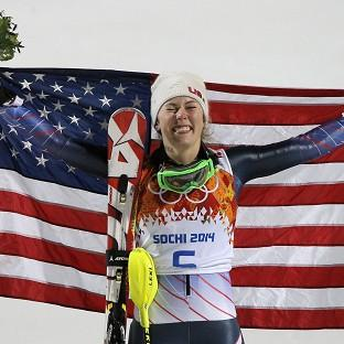 Mikaela Shiffrin is the youngest ever slalom gold medal winner (AP)