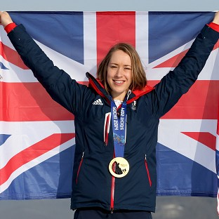 Lizzy Yarnold has been blown away by her fame since winning gold
