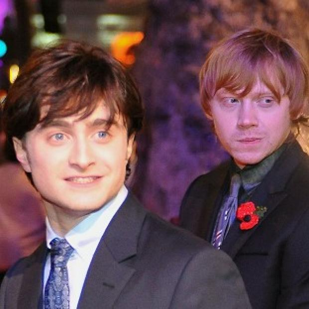 Andover Advertiser: Rupert Grint was named the London newcomer of the year - an award Daniel Radcliffe won previously for Equus