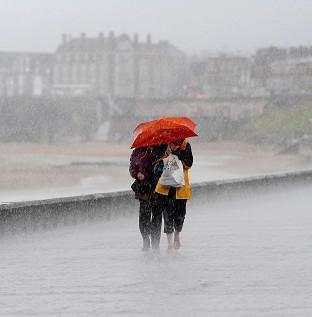 Andover Advertiser: Almost two weeks' rain is expected to fall in parts of Britain overnight
