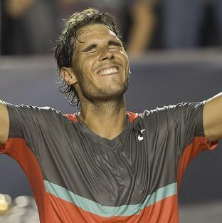Rafael Nadal won his 62nd ATP Tour title in Rio (AP)