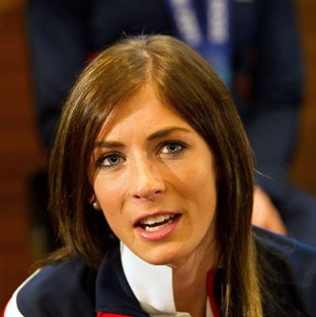 Andover Advertiser: Eve Muirhead skippered Great Britain's women's curling team to bronze in Sochi
