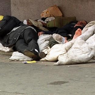 Andover Advertiser: Counts and estimates compiled by local councils in the autumn put the number of people sleeping on the streets at 2,414