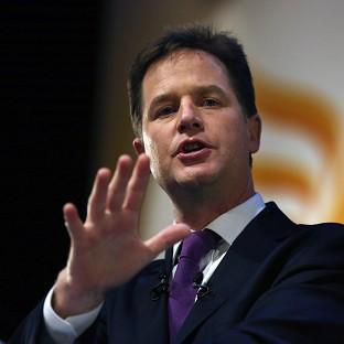 Andover Advertiser: Nick Clegg says many schools are failing to give their students proper careers advcie