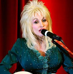 Country music star Dolly Parton announced on Twitter that she'll be on stage at this year's Glastonbury Festival
