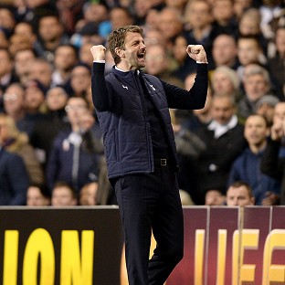Tim Sherwood hailed Spurs' fighting spirit