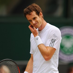 Andy Murray lost in three sets
