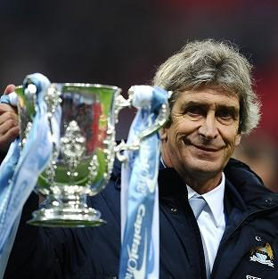 Manchester City manager Manuel Pellegrini wants to win more trophies this term