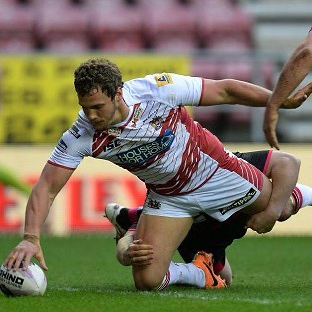 Andover Advertiser: Sean O'Loughlin scored a brace of tries for Wigan