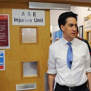 Ed Miliband said Labour's health plan would give NHS patients a greater say on th
