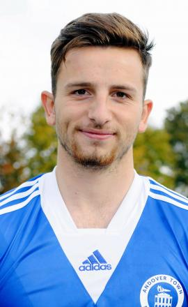 Lloyd Foot capped a man of the match showing with a stunning strike against New Milton
