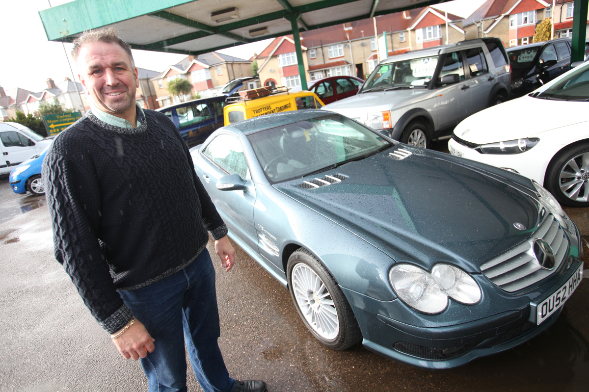 Garage owner sells Jeremy Clarkson's top-of-the-range motor