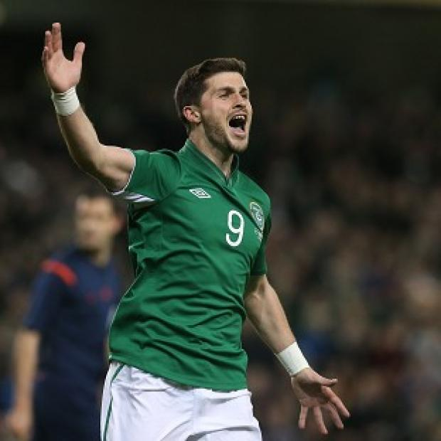 Andover Advertiser: Republic of Ireland striker Shane Long is happy with the pressure of filling Robbie Keane's boots.