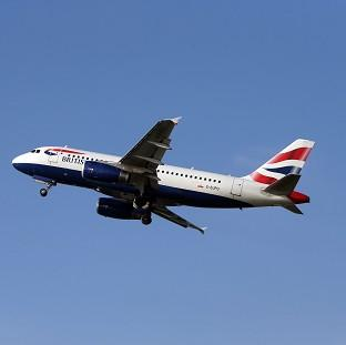 Andover Advertiser: A British Airways Airbus A319 was involved in the incident