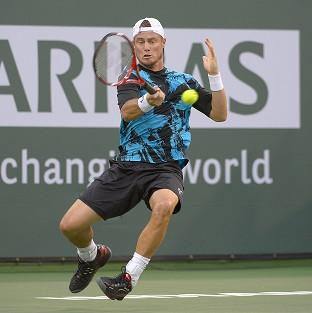 Andover Advertiser: Lleyton Hewitt on his way to win number 599 of his career (AP)