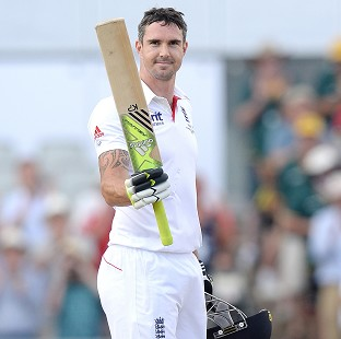 Kevin Pietersen was axed by England last month