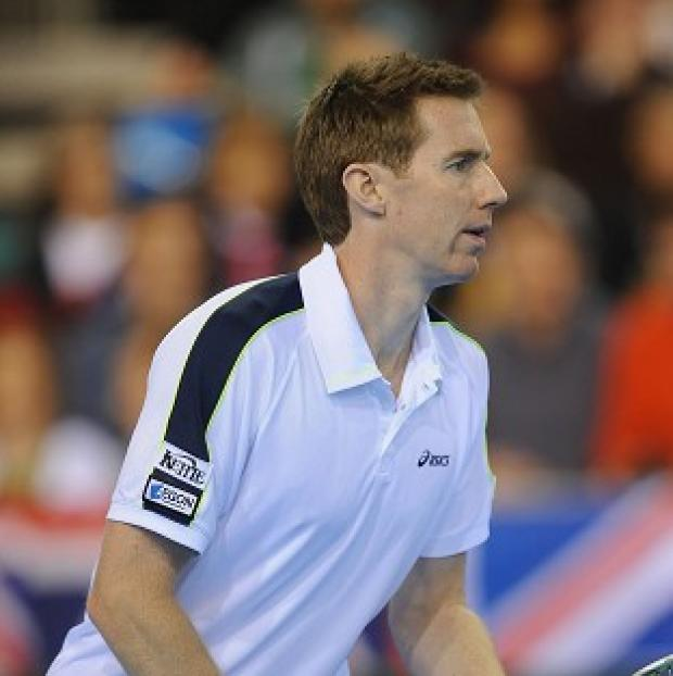 Andover Advertiser: Former Wimbledon winner Jonny Marray, pictured, partnered Andy Murray to victory in the first round of the men's doubles at the BNP Paribas Open