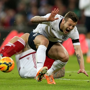 Jack Wilshere is out with a foot injury