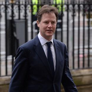 Andover Advertiser: Deputy Prime Minister Nick Clegg has condemned Vladimir Putin's 'outdated mentality'