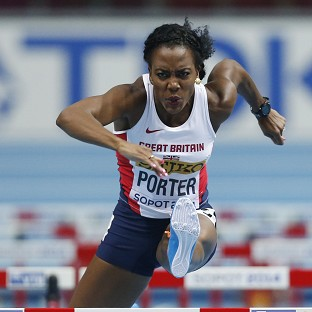 Tiffany Porter claimed bronze in Sopot (AP)