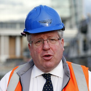 Transport Secretary Patrick McLoughlin announced extra cash for areas hit by the winter floods