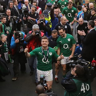Brian O'Driscoll described his final Ireland game in Dublin as 'very, very special'