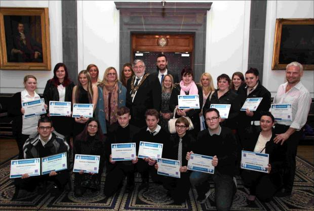 Southampton's young apprentices honoured by Mayor