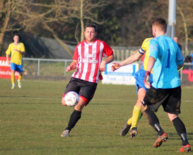 Nic Turpin's goal could not prevent Alresford from making it a hat-trick of wins