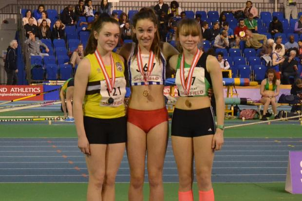 Holly takes the gold medal at Sheffield