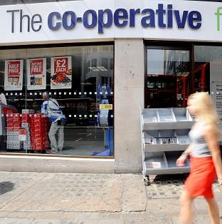 The Co-operative Group has accepted the resignation of chie
