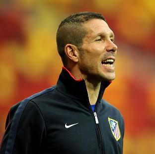 Andover Advertiser: Boss Diego Simeone knows Atletico Madrid will have to face a tough opponent in the Champions League quarter-finals
