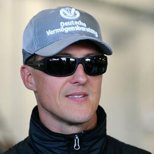 Michael Schumacher was hurt in a skiing accident in December
