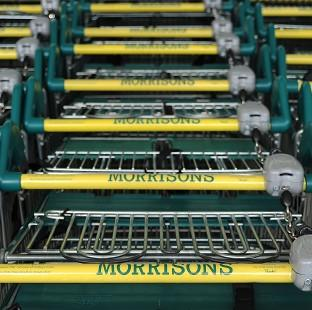 Andover Advertiser: Morrisons has posted an annual loss of �176 million