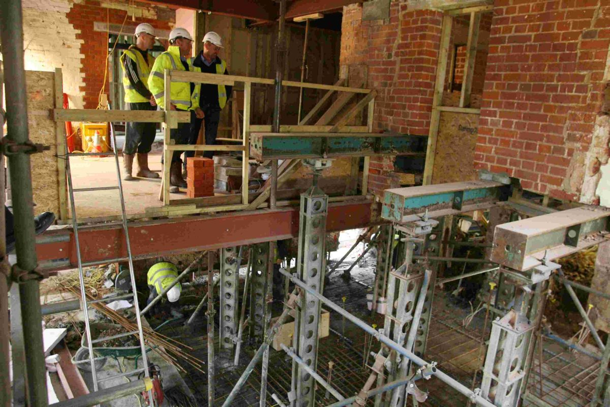 Celebrity chef's Winchester restaurant taking shape