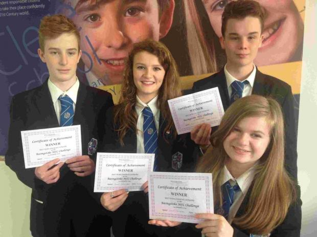 French language pupils win title