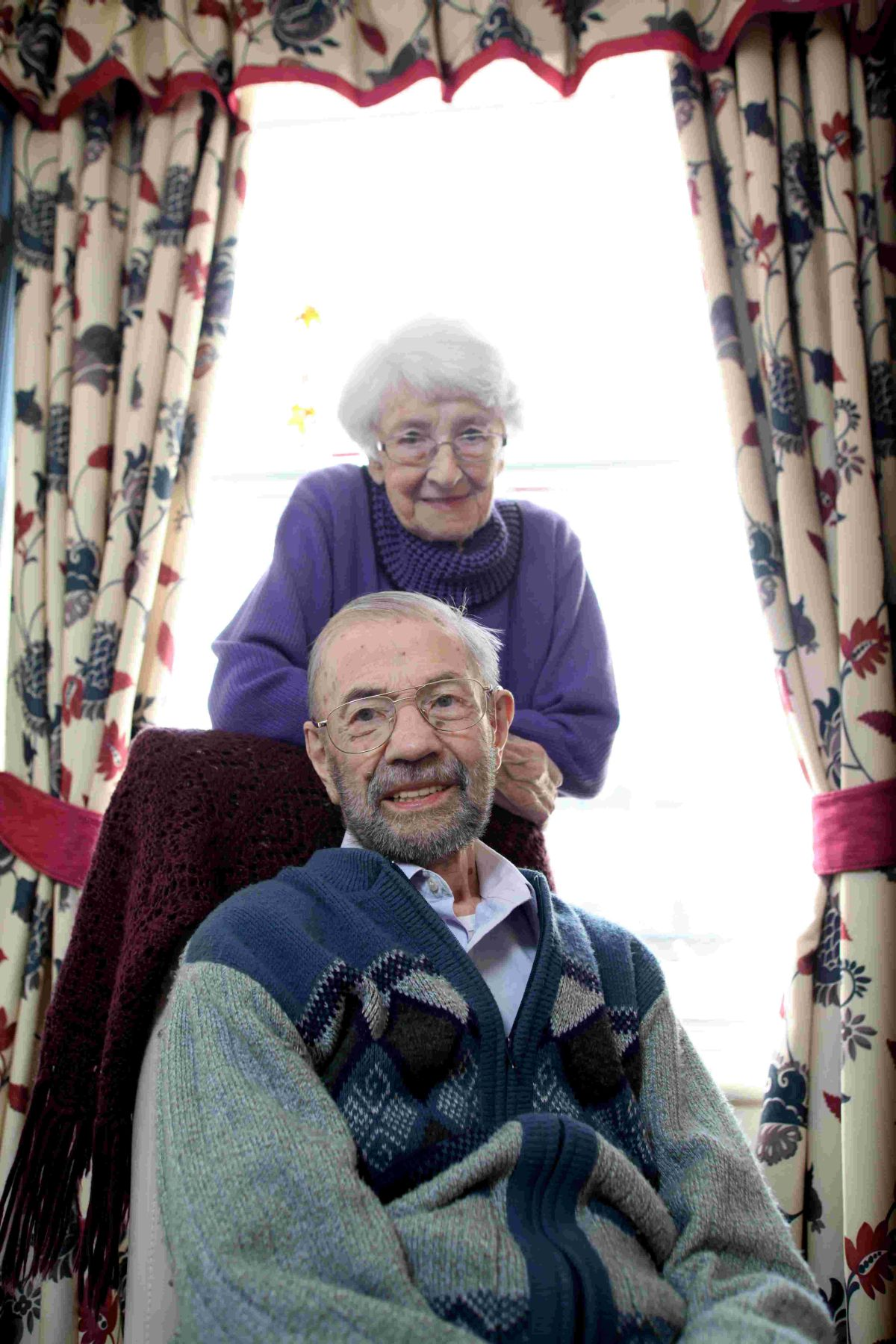 Doug and Betty Hale celebrated their special day at Southgate Street's Devenish House Care Home, where they live, where staff gave them roses and a celebratory lunch to mark the considerable milestone