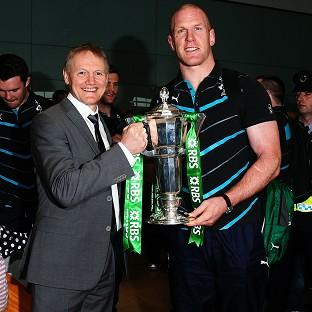 Paul O'Connell, right, says Joe Schmidt 'instils a lot of confidence in those around him'
