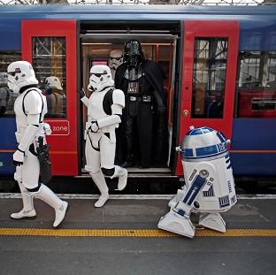 Andover Advertiser: R2-D2 (right) is to feature in the new Star Wars film.