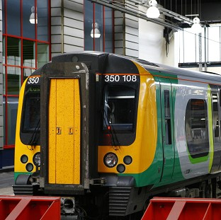 London Midland is investigating the comment, which was made over the train's speaker system as it pulled into Telford Central