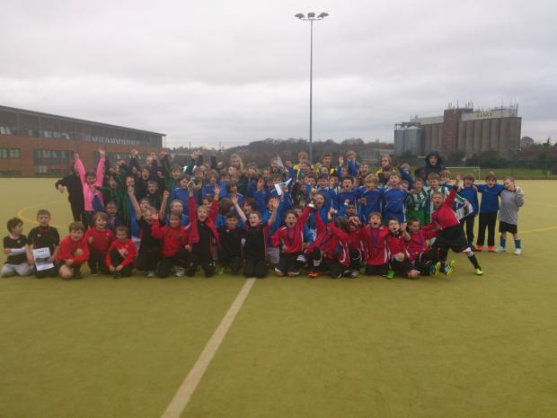 Happy faces at the John Hanson Cluster Tournament