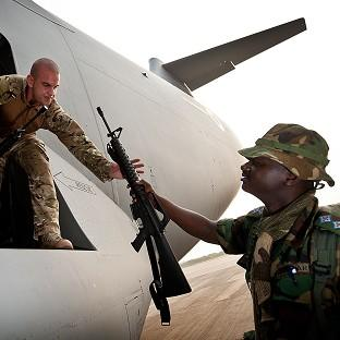 Despite an international operation to rid Mali of Islamist militants, MPs say the eest failed to spot the warning signs until it was too late (Ministry of Defence/AP)