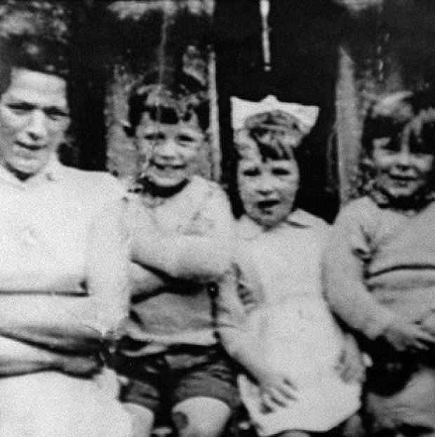Andover Advertiser: Jean McConville (left) with three of her children before she vanished in 1972