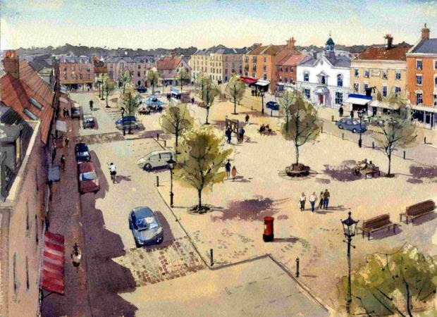 Artist's impression shows the future of Manydown