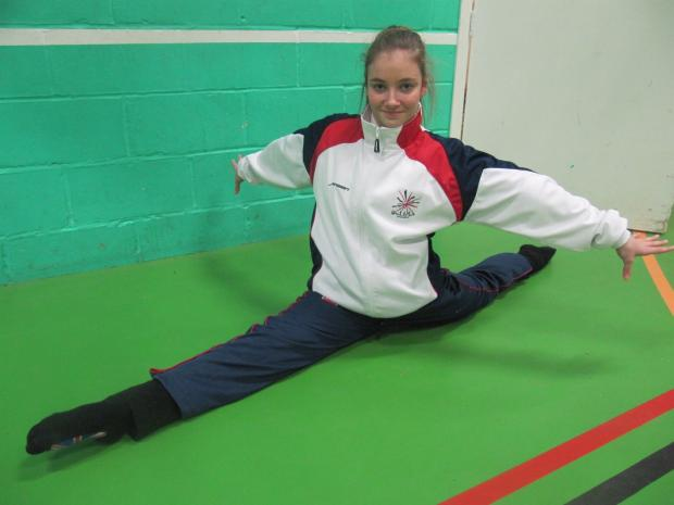 Tumbler Jenna Barrett is in the GB squad this year