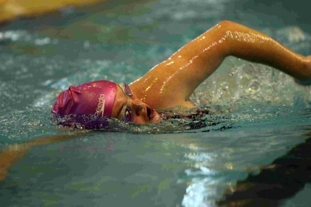 Residents are encouraged to put a team together to swim in relay for 55 minutes.