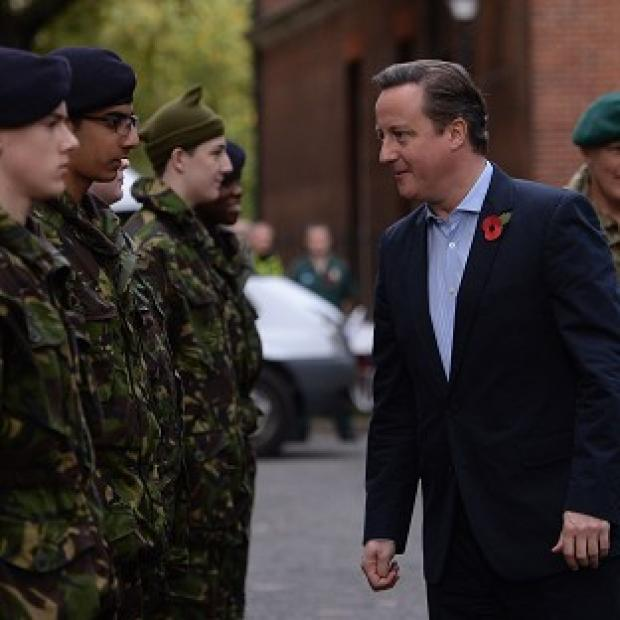 Andover Advertiser: MPs have warned David Cameron against any further cutbacks to Britain's armed forces