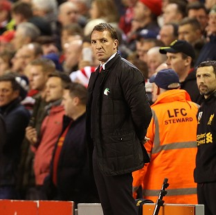 Brendan Rodgers was happy with the patience displayed by his side