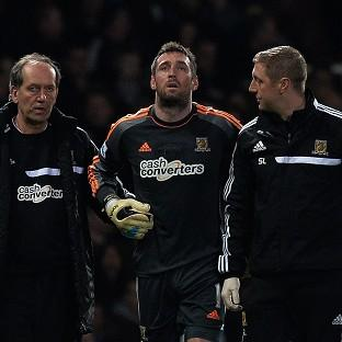 Hull goalkeeper Allan McGregor is set to be ruled out for the rest of the season with kidney damage