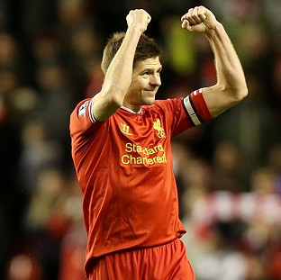 Steven Gerrard has been inspirational for Liverpool this season